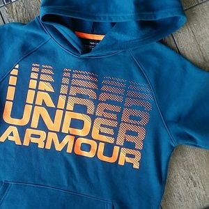 NWT UNDER ARMOUR RIVAL HOODIE